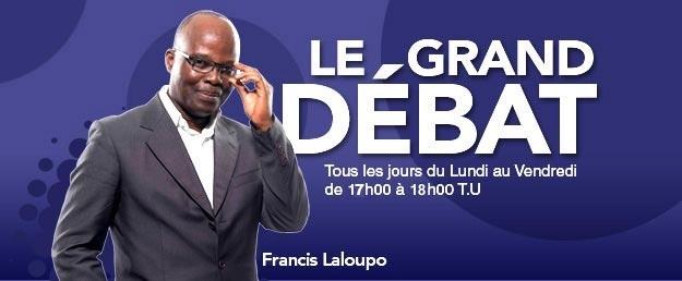 Francis LALOUPO - Journaliste   Animateur du Grand Débat